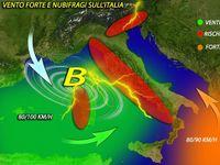 Meteo: VENTO forte e NUBIFRAGI nel giorno di SAN VALENTINO con PANTA REI, le PREVISIONI [MAPPE]