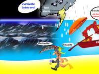 METEO ~ ultime ore di caldo africano, Caronte saluta l'Italia [VIDEO]