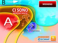 Meteo WEEKEND: ci sono Importanti novità per SABATO 23 e DOMENICA 24. Gli aggiornamenti