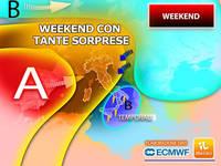 Meteo: WEEKEND con tante Sorprese, gli Aggiornamenti per Sabato 23 e Domenica 24 ottobre nel Dettaglio