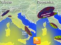 METEO ~ una Domenica instabile, ma Sabato ci sarà tanto sole [VIDEO]
