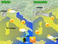 METEO - nebbia al Nord, sole al Centro-Sud, ecco il weekend [VIDEO]