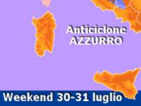 METEO » ultimo weekend di Luglio con sole, caldo e qualche temporale! [VIDEO]