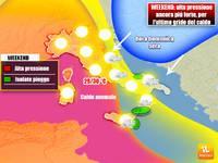 Meteo WEEKEND: Sabato e Domenica alta pressione ancora più forte, per l'ultimo grido del CALDO
