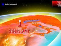 METEO WEEKEND: vertiginosa IMPENNATA delle TEMPERATURE fino a 33°C