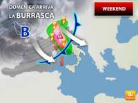 Meteo: WEEKEND, Sabato di Quiete, ma Domenica Arriva una BURRASCA AUTUNNALE, Rischio Nubifragi. Ecco Dove