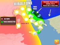 Meteo WEEKEND: ULTIMO caldo ANOMALO, ma poi arriva il FREDDO RIBALTONE entro Domenica. I dettagli