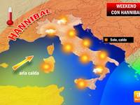 WEEKEND: Meteo sotto l'egida di Hannibal, sole sull'Italia [VIDEO]