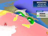 Meteo: WEEKEND pre-natalizio, non sarà sole per tutti. Vediamo le zone a rischio MALTEMPO Sabato e Domenica