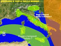 METEO ~ Weekend con piogge? Festa della Mamma con Maltempo? [VIDEO]