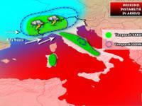 Meteo: WEEKEND tempo INSTABILE TEMPORALESCO su alcune regioni, ma caldo al CentroSud