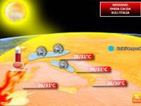 Meteo: WEEKEND, il CALDO gioca d'ANTICIPO, VERTIGINOSO  aumento termico a 33°C