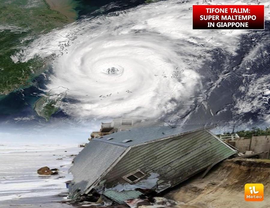 Il tifone Talim, un mostro della natura