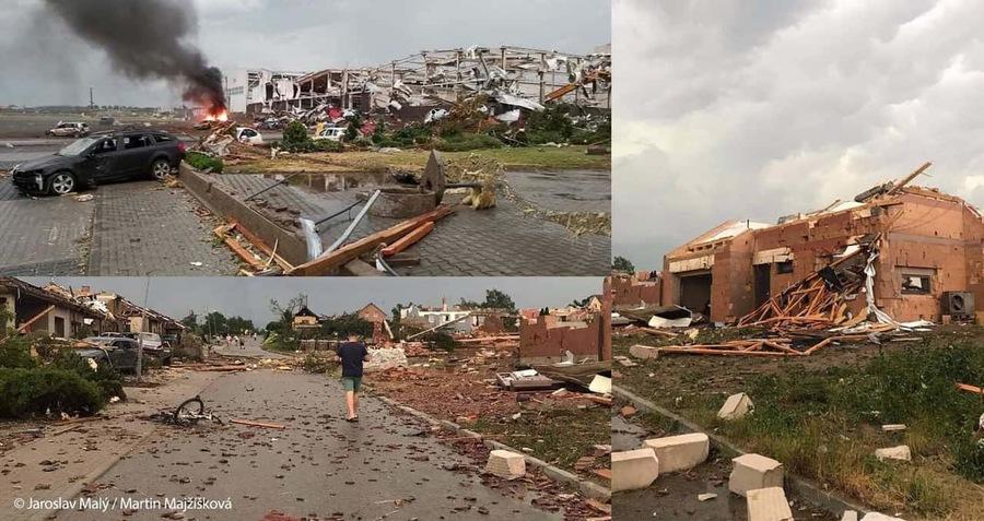 Tornado in Repubblica Ceca
