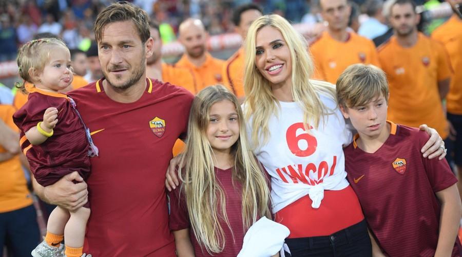 Francesco Totti dice addio al calcio giocato