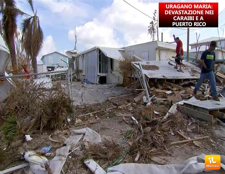 Puerto Rico e isole caraibiche, devastazione ad opera dell'uragano Maria