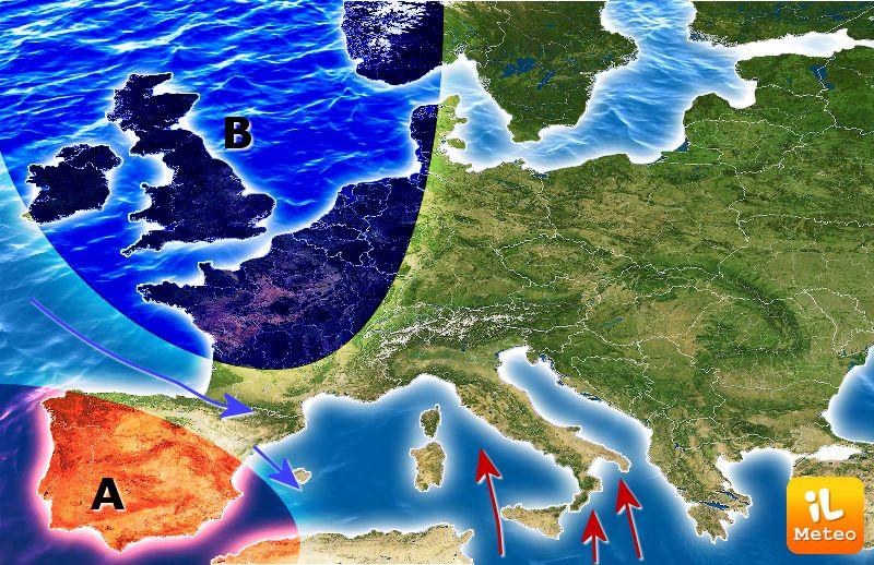 Allerta maltempo su tutta la Toscana per la giornata di domani