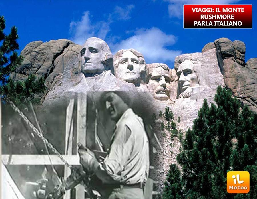 VIAGGI: il Monte Rushmore parla italiano
