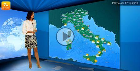 Ondata di maltempo su mezza Sardegna, altre 24 ore di allerta arancione