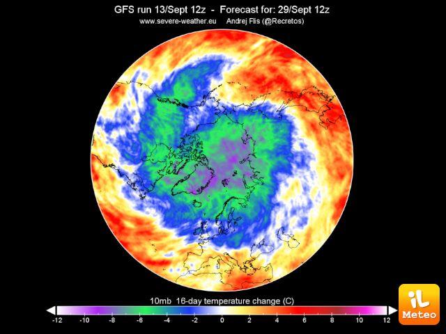 Il Vortice Polare: importante figura meteorologica in grado di influenzare il tempo fin sull'Italia