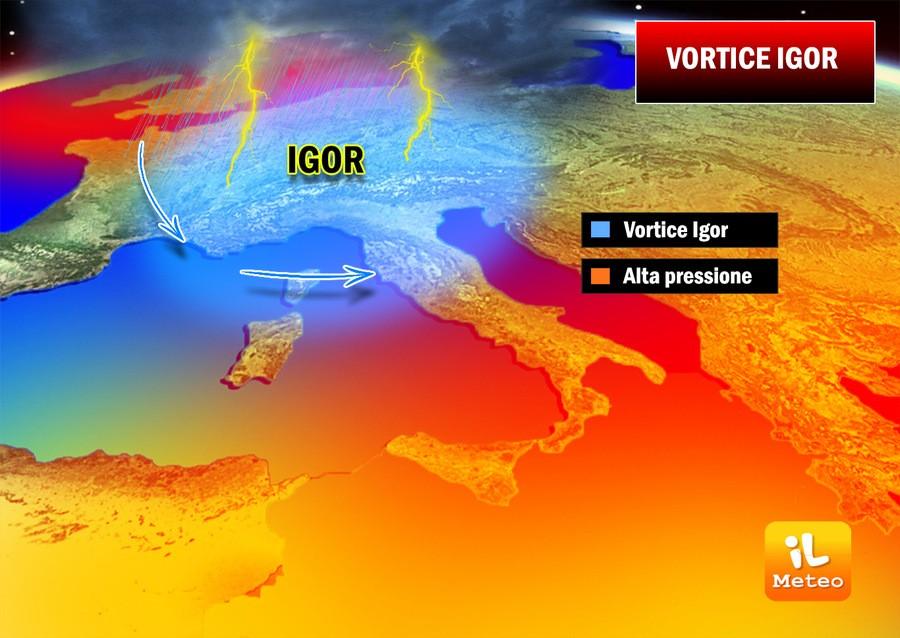 Previsioni meteo oggi: insiste l'instabilità, attese piogge e temporali