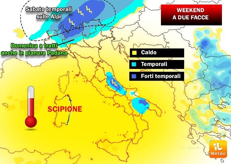 Previsioni meteo Milano ponte 2 giugno caldo anomalo in città
