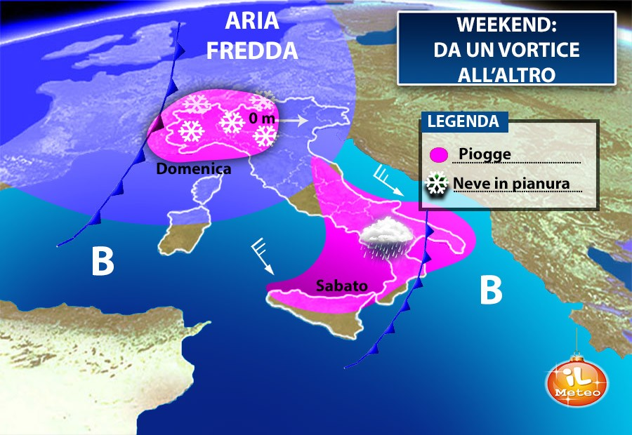 Meteo Weekend Da Un Vortice All Altro Sabato E Domenica Con