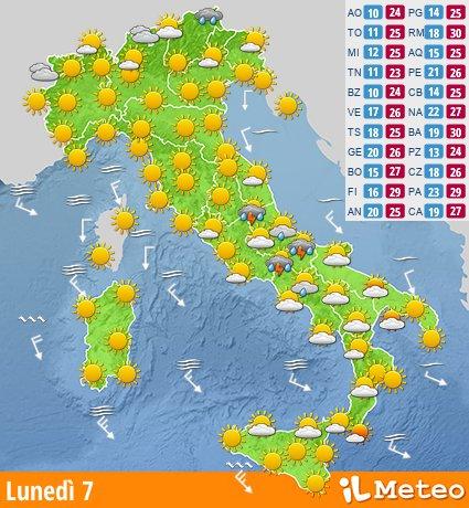 Meteo Italia Cartina.Ilmeteo It Meteo E Previsioni Del Tempo Italia E Mondo